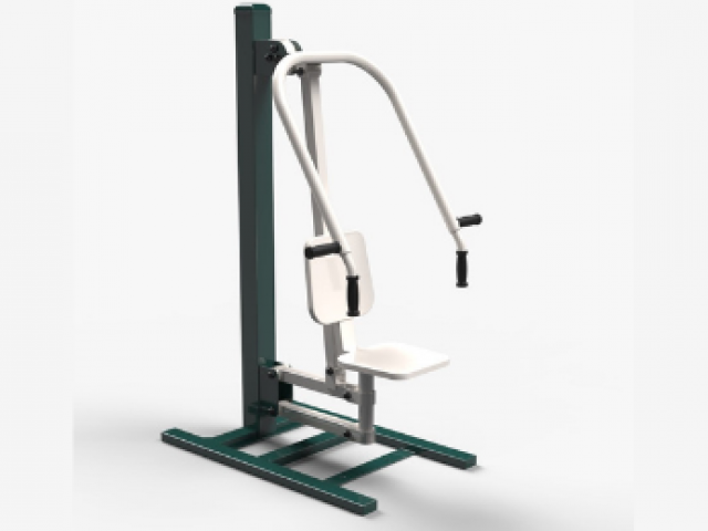 safe and durable seated chest press - sws group