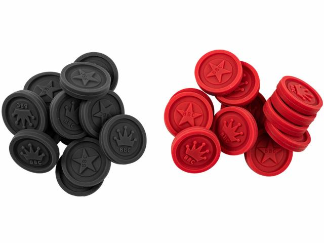 Silicone Game Pieces - Checkers