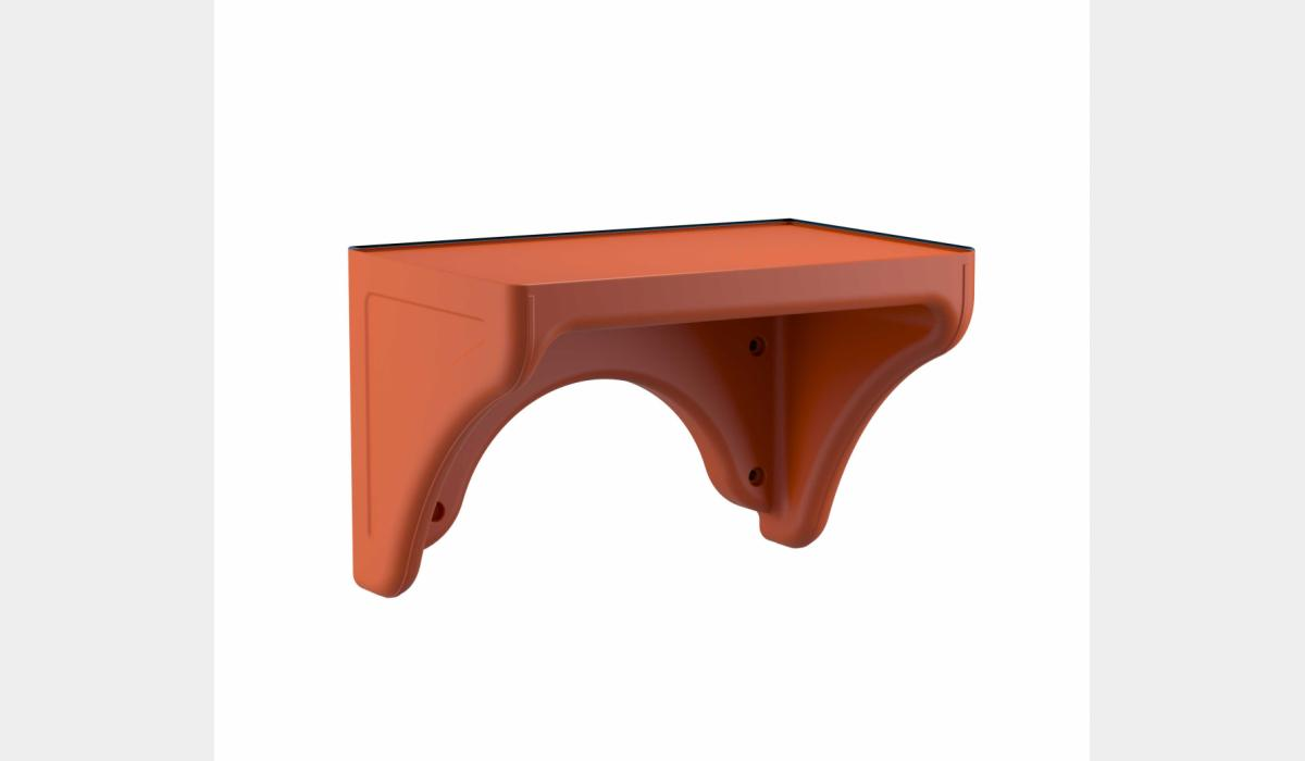Attenda Wall Desk Canyon