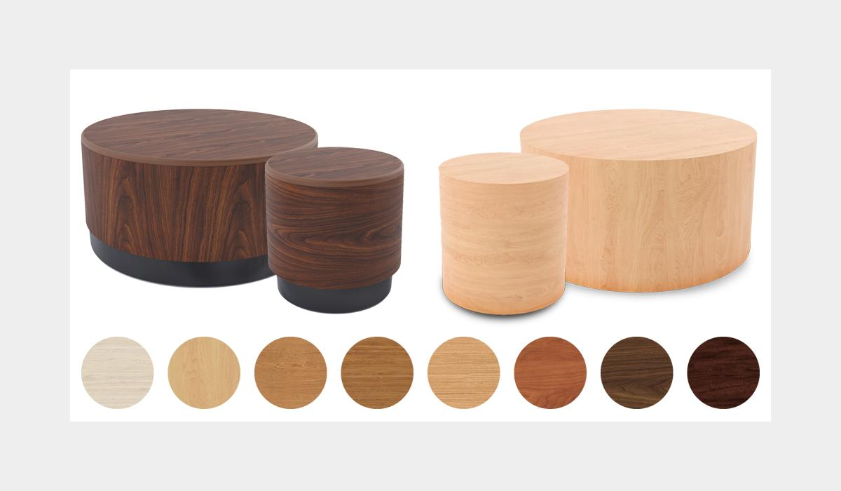 Tabla Drum Table Finishes