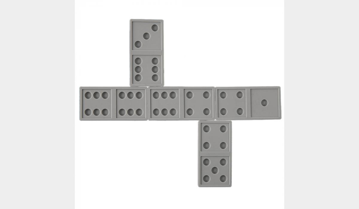 Silicone Game Pieces - Dominoes