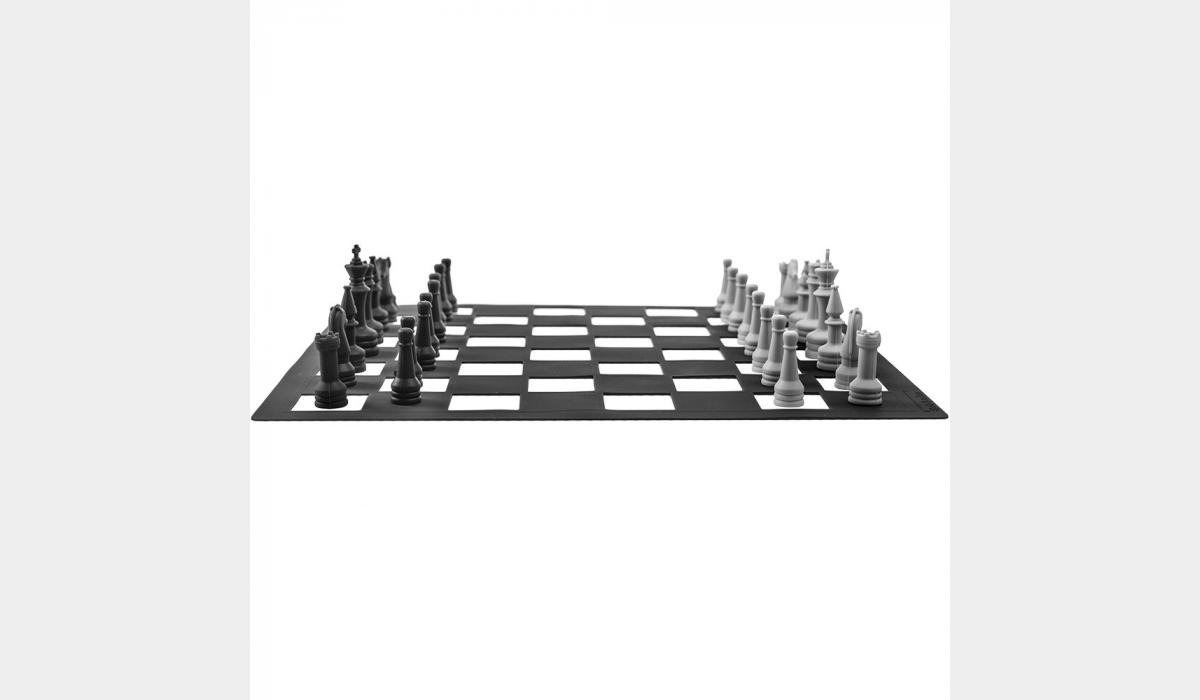 Silicone Game Pieces - Chess Set