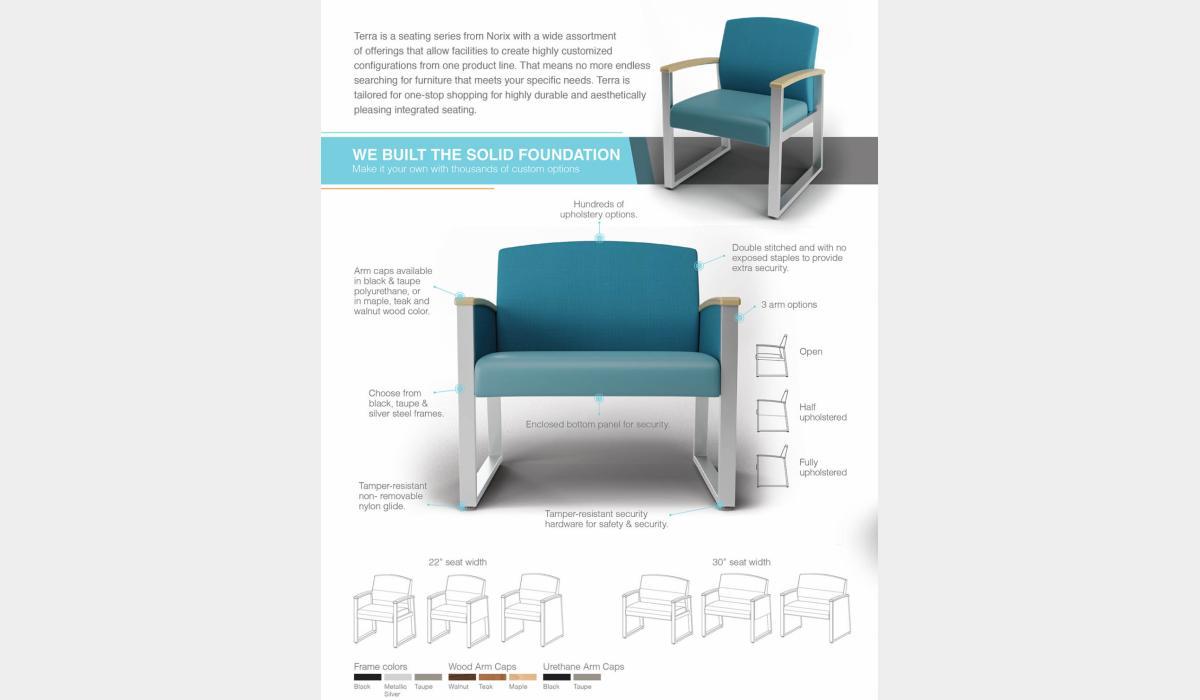 Terra Seating Series